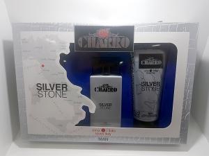 Confezione Uomo Charro Ama l'Italia Eau de Parfum Silver Stone + Doccia