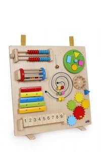 Gioco x stimolare motricità/manualità Multimax per bambini in legno