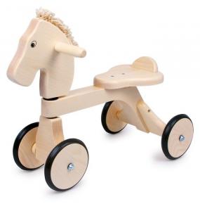 Gioco quadriciclo/bicicletta in legno, primi passi x bambino