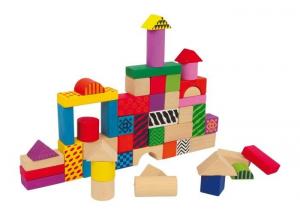 Costuzioni mattoncini da costruire in legno giocattolo bambino/bambina
