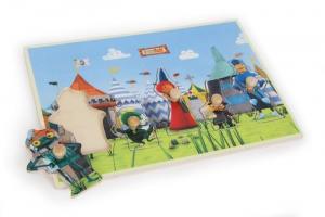 puzzle ad incastro Ritter Rost legno Gioco bambina/bambino