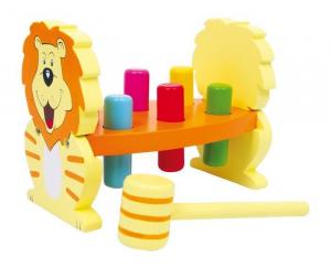 Banco da lavoro Mod. Leone in legno Gioco didattico per bambini