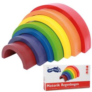 Arcobaleno motorio gioco in legno motricità bambini Legler 6969