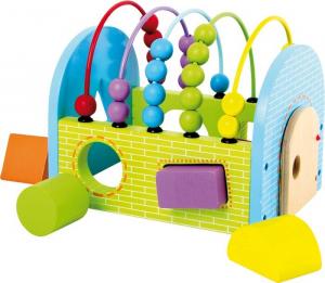 Cubo Attività colorato con forme