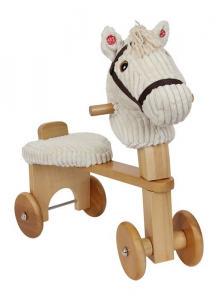 Primi passi quadriciclo in legno per bambini con suoni
