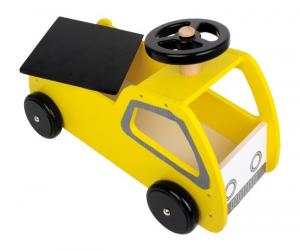 Macchina a spinta veicolo in legno giocattolo motorio per bambini