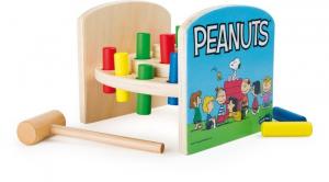 Banco con martelletto da battere in legno Peanuts & Co snoopy gioco bambini
