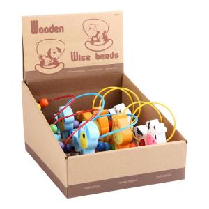 Display 6 pezzi gioco in legno bambini motricità Altalena