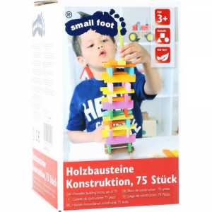 Cubetti da costruzione in legno Gioco di motricità per bambini