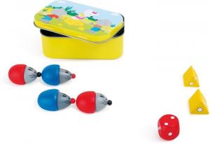 Topo e formaggio piccolo gioco in legno. Espositore/display x negozio edicola