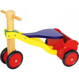 triciclo senza pedali in legno primi passi, Gioco per bambini