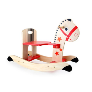 Cavallo a dondolo in legno Stella Gioco bambino. Legler 10387