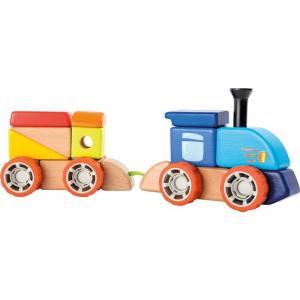 Costruzione in legno Ferrovia Gioco per bambini Legler 10340