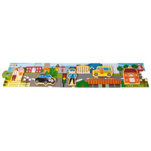 Story Puzzle in legno Città Legler 10794
