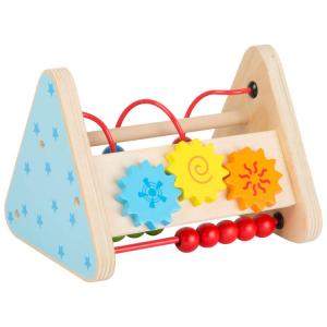 Gioco di motricità a triangolo in legno Gioco neonato bambino