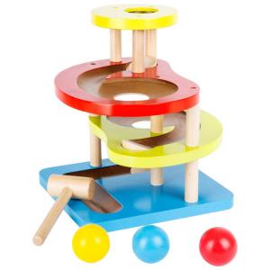 Pista per biglie da martellare colorata Gioco per bambini