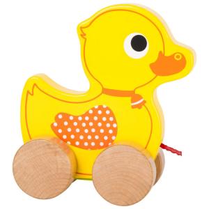 Anatra da trainare  Gioco in legno per bambini