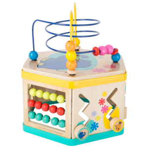 Dado motricità XL con l´ Elefante DieMaus gioco in legno per bambini