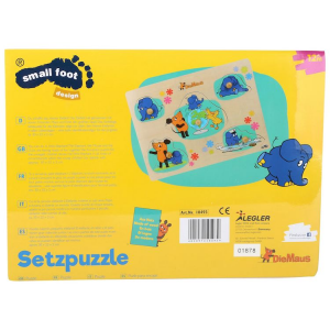 Puzzle in legno DieMaus gioco per bambini