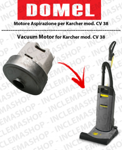 CV 38 Motore aspirazione Domel per Battitappeto Karcher
