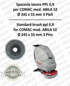 Standard Brosse ppl 0,9 pour autolaveuses COMAC mod. ABILA 52 con 3 pioli