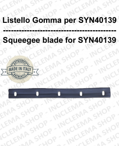 Listello gomma for spazzola SYN40139