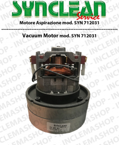 SYN 712031 SYNCLEAN Vacuum MotorCLEAN for scrubber dryers e vacuum cleaner