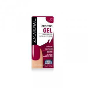 Sensationail Express Gel Polish Red Your Profile