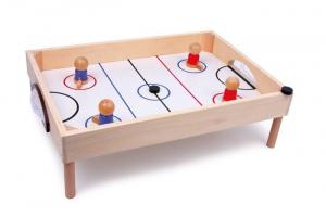 Hockey da tavolo gioco di società in legno