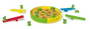 Rane saltanti in legno gioco di società per bambini