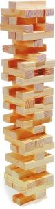 Torre traballante in legno gioco didattico costruzioni Legler 8004