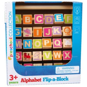 Paroliere in legno giocattolo didattico per imparare inglese