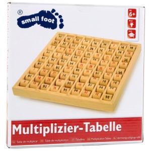 Tabellina Calcolo in legno per imparare moltiplicazioni Gioco bambini