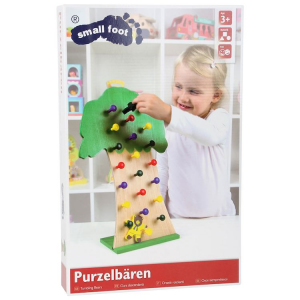 Albero Torre Orsetti rotolanti in legno gioco per bambini