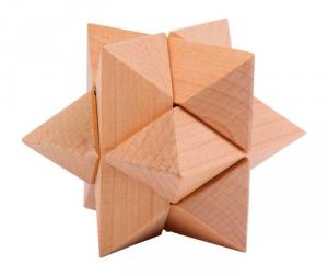 Puzzle Gioco di destrezza e fantasia in legno bambini