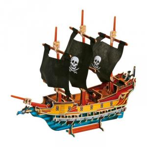 Puzzle 3D, Nave dei Pirati