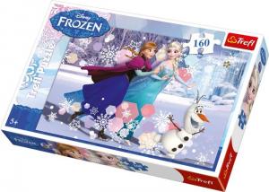Puzzle Trefl Frozen Disney Elsa e Anna 160 pezzi