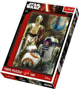 Puzzle Star Wars Droidi, 160 pezzi