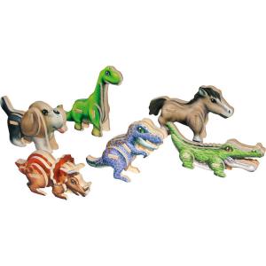 Puzzle 3D in legno Piccoli Dinosauri