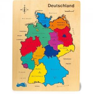 Puzzle Germania in legno