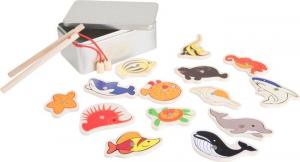 Gioco della pesca in confezione regalo. Set da 2