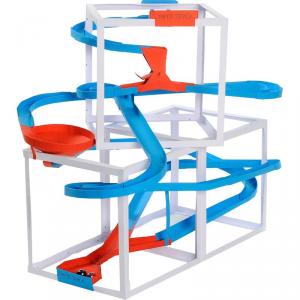 Pista biglie con accessori Papertrack, 4 metri Gioco per bambini Legler 10307