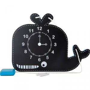 Orologio didattico per bambini scuola con lavagna Balena Legler 10323