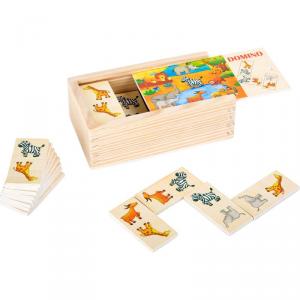Gioco Domino in legno Safari Legler 10335