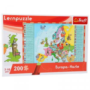 Puzzle didattico Mappa dell'Europa Legler 10418
