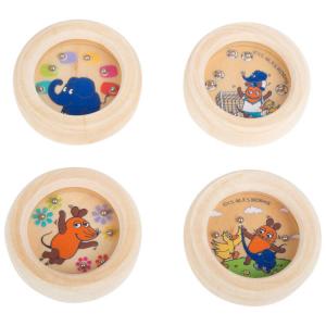 gioco di pazienza in legno Die Maus Espositore Display 24 pezzi