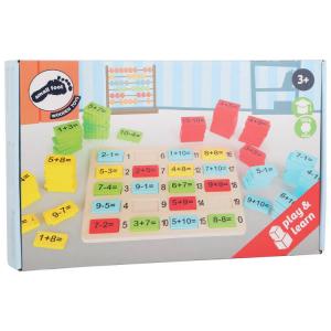 Puzzle in legno per imparare la matematica giocando