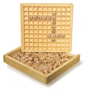 Paroliere Telaio sistemare le parole in legno gioco didattico