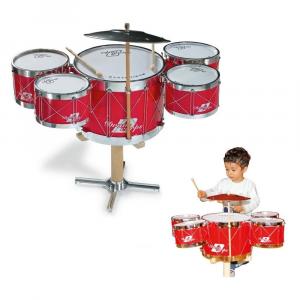 Batteria Semplice Strumento Musicale Giocattolo Bambino Bambina