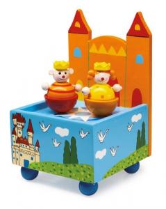 Carillon Castello in legno musica e suono giocattolo bambini